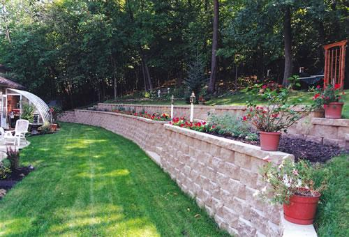 Custom Built Retaining Walls Llc St Louis Missouri